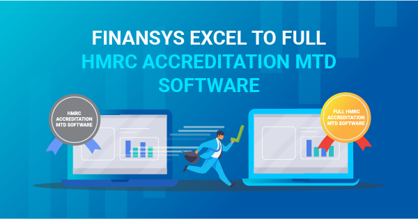 FinanSys excel to full HMRC accreditation MTD Software